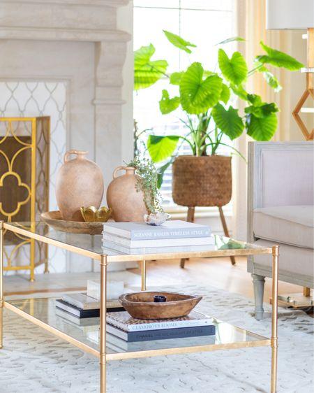 Coffee table decor, coffee table styling, neutral decor, living room decor, farmhouse decor, transitional decor. Studio McGee threshold, target decor. #liketkit @liketoknow.it http://liketk.it/39jsr