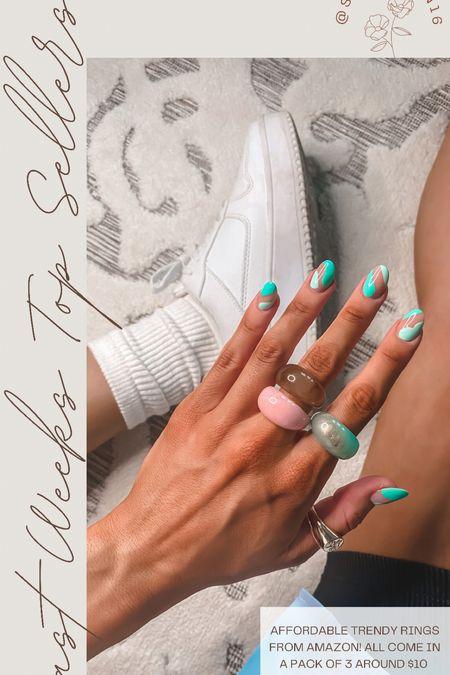 Top seller last week Amazon trendy rings Affordable rings    #LTKsalealert #LTKstyletip #LTKunder50