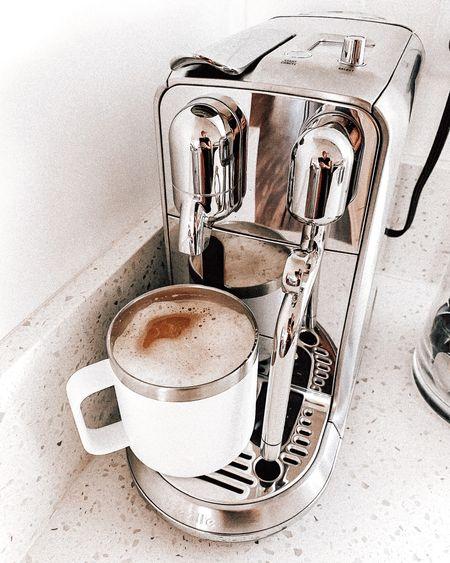 My nespresso coffee machine! Love the Starbucks blonde roast pods   #LTKhome