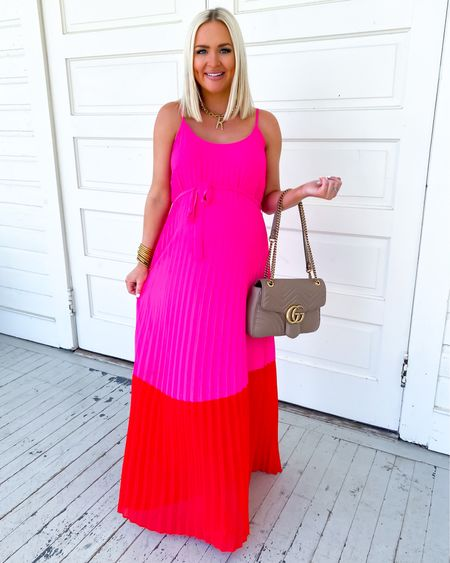 Vacation style in this color block maxi dress! Use KELSIE15 for 15% off  http://liketk.it/3gCU0 @liketoknow.it #liketkit #LTKbump #LTKunder50