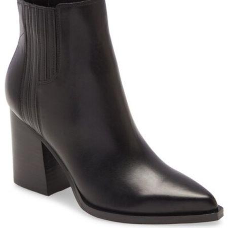 Marc Fisher booties Under $100 | Marc Fisher shoes | Marc Fisher boots | black booties | ankle booties | fall booties | nsale | Nordstrom sale #LTKshoecrush #LTKunder100 #LTKsalealert @liketoknow.it #liketkit http://liketk.it/2Vplf