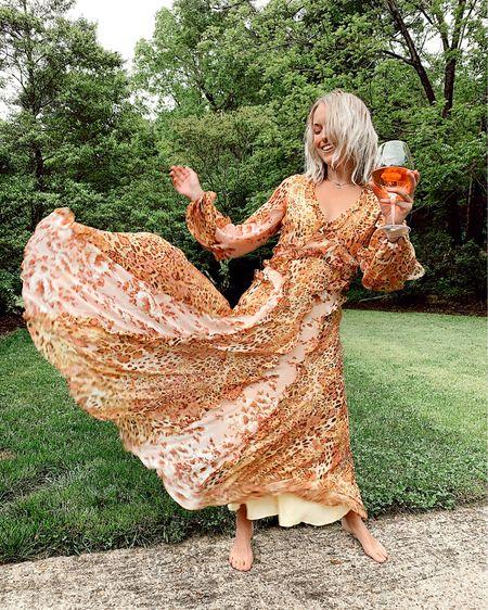 Leopard print and floral print maxi dress on sale for 60% off 🐆🌸 Runs TTS, zipper back, fully lined.  http://liketk.it/2PccW @liketoknow.it #liketkit #LTKsalealert #LTKunder100 #LTKspring Nordstrom, spring dresses, summer dresses, floral dresses, boho dresses, wedding guest, summer wedding, Nordstrom dresses, Nordstrom sale