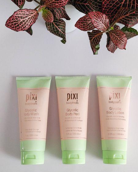Pixi Beauty Glycolic Body Wash, Peel, and Lotion #bodycare #skincare #pixibeauty #LTKunder50 #LTKbeauty #liketkit http://liketk.it/3eaUT @liketoknow.it