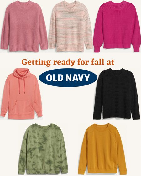 Plus size ladies… I know we have a complicated relationship with Old Navy, but I truly do love their sweaters, and I'm one who loves to plan ahead! Some of these are less than $15! Grab some sweaters and be prepped for September!  #LTKsalealert #LTKSeasonal #LTKcurves