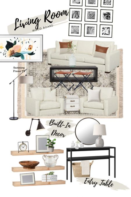 Modern farmhouse living room decor & entry way decor  #LTKhome #LTKunder50 #LTKunder100