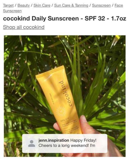 Love using Cocokind sunscreen! Use jenn10 @ cocokind.com to save!   #LTKbacktoschool #LTKbeauty #LTKSeasonal