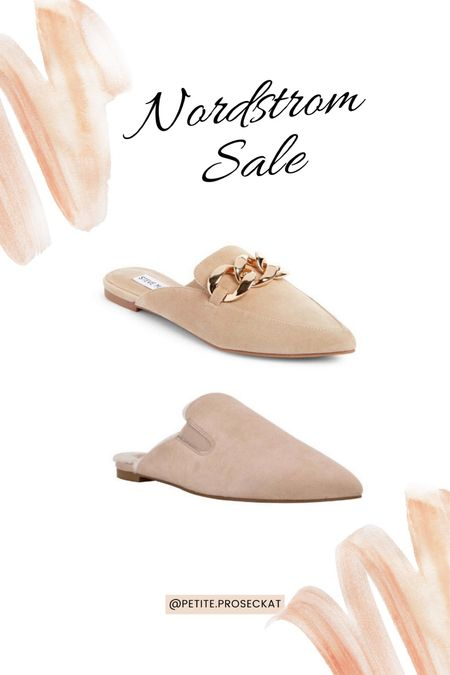 NSALE is here! These neutral toned mules are perfect for the office. When you're not feeling heels these elevate your outfit to the next level!   #LTKsalealert #LTKunder50 #LTKunder100