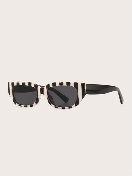 ✨🚨New Arrival: Geometric Frame Sunglasses- $4.50🚨✨ | Shein | Back to School | Sunglasses | Work Wear | Fall Fashion | Fall Accessories | Statement Accessories | Under $50 | Under $100 | Sunglasses Under $5 |   #LTKstyletip #LTKunder50 #LTKsalealert