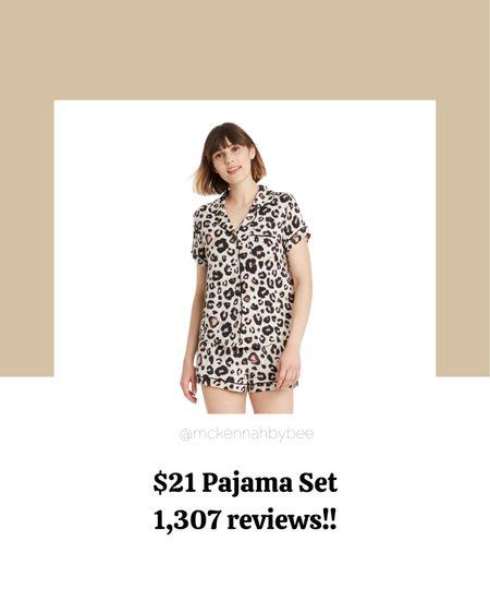 Pajama set, loungewear, Target finds, Target fashion.  #LTKSeasonal #LTKbacktoschool #LTKstyletip