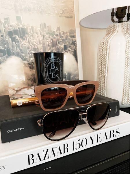 Sunglasses for fall 🖤  #LTKunder50 #LTKSeasonal #LTKunder100
