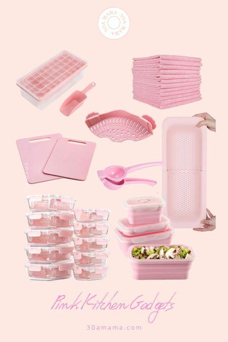 Blush pink kitchen gadgets.  Amazon finds   #LTKhome #LTKunder50 #LTKunder100