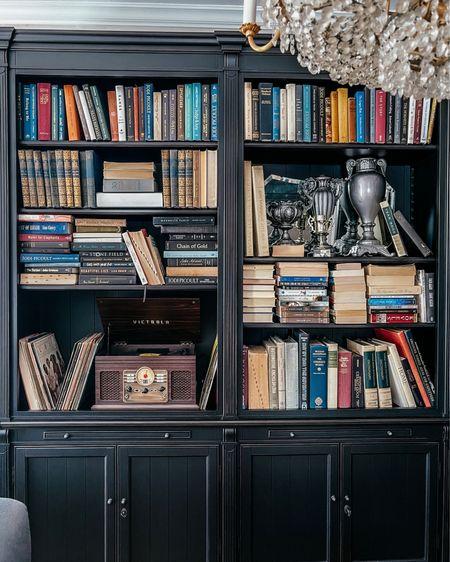 #LTKhome #LTKbeauty #LTKfamily   Bookcase styling! http://liketk.it/39fYZ #liketkit @liketoknow.it