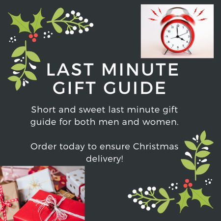 Just a little short and sweet last minute Christmas gift guide. I know most of us might be already done shopping but there's always that little something you need at the end that you forgot. Or perhaps your just starting your shopping - in which case god speed 😂😂jk. Happy shopping! #LTKgiftspo #LTKunder50 #LTKunder100 http://liketk.it/342A8 #liketkit @liketoknow.it