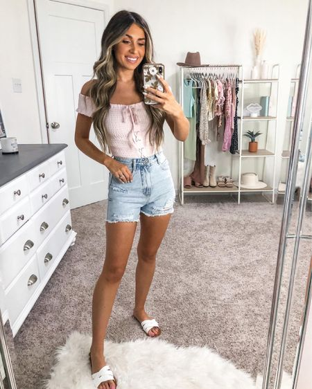 Summer Outfit Inspo 💕 top and sandals are forever 21 and both under $20 http://liketk.it/3glXt #liketkit @liketoknow.it #LTKunder50 #LTKstyletip #LTKsalealert