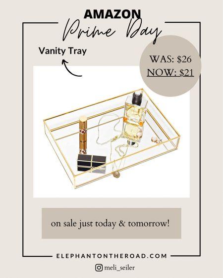 Amazon Prime Day deal! Vanity Tray http://liketk.it/3i7Ch #liketkit @liketoknow.it #LTKsalealert #LTKhome