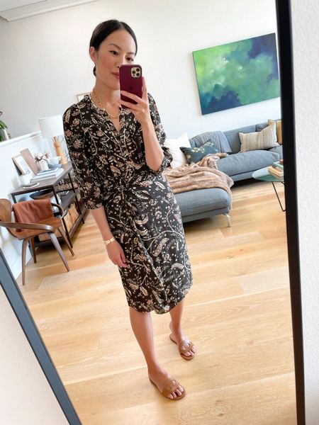 A two-piece set that looks like a dress but will be easily worn separately too ☺️  #LTKworkwear #LTKstyletip #LTKSeasonal