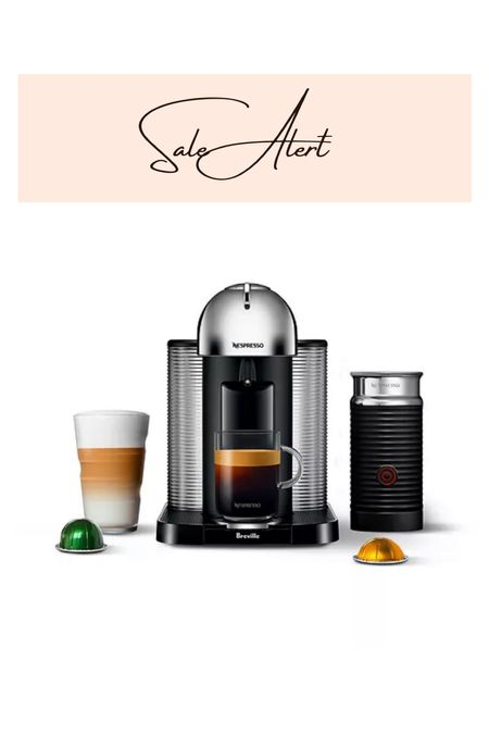 My nespresso machine is currently 23% off, plus you can get an extra 10% off with code FRIEND  Makes a great holiday gift!   #LTKhome #LTKsalealert #LTKHoliday