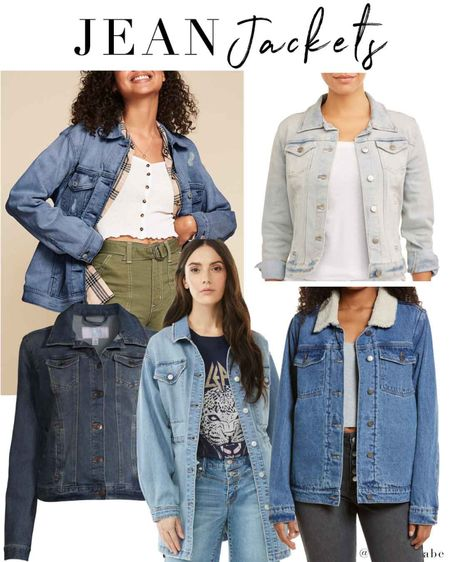 Best Jean jackets on a budget! The signature by levi Strauss is probably my top choice at just $29. I own and love both of the time and tru jackets shown here but they're available in limited sizes online, only $19 and the best fit and quality. Finally the sherpa collar one is only $38! That's less than Target people. http://liketk.it/3kZE4 #liketkit @liketoknow.it #LTKunder50 #LTKsalealert #LTKstyletip