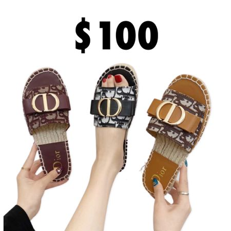 Dior sandals   #LTKunder100 #LTKsalealert #LTKworkwear
