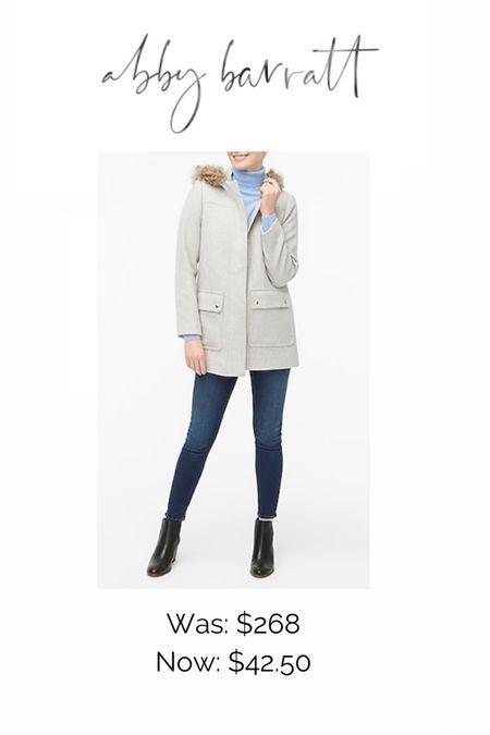 Such a good deal! I love this J. Crew coat!! http://liketk.it/34LAQ #liketkit @liketoknow.it #LTKunder50 #LTKsalealert #LTKstyletip @liketoknow.it.home @liketoknow.it.family