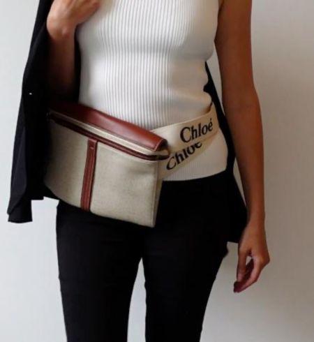 The Chloe Woody range is one of my latest obsessions! Here's the NEW Chloe Mini Woody bag styled as a crossbody & waist bag 🙌 use code HBHYT10 for 10% on FARFETCH  #chloebag #chloewoodybag #chloewoody #designerbag #balmainblazer  #LTKSeasonal #LTKworkwear #LTKstyletip