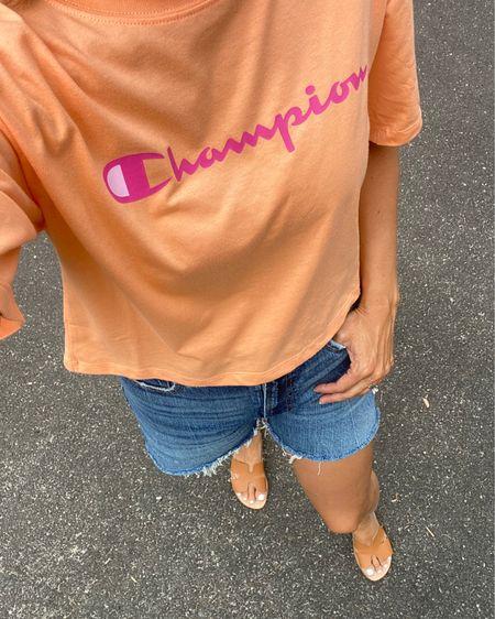 Champion Walmart tee @liketoknow.it #liketkit http://liketk.it/2Wm3D