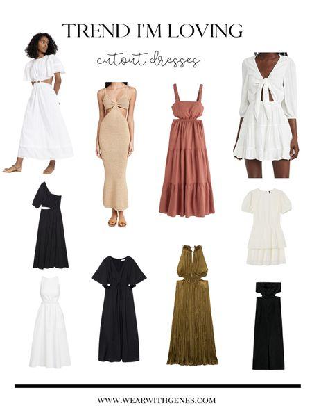 Trend I'm loving: CUT OUT DRESSES more in stories http://liketk.it/3gKhA #liketkit @liketoknow.it #LTKunder100 #LTKstyletip #LTKunder50