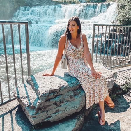 I love this Paisley floral print maxi dress. Check out my latest reel on Instagram @heytherechristine to transition this look from summer to fall.  The print of this dress also comes in a mini dress style that I linked as well  #LTKstyletip #LTKwedding #LTKunder100