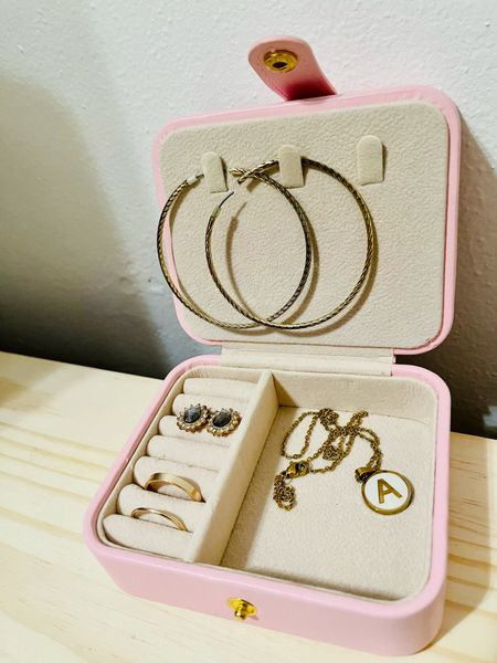 These days I find myself organizing just about anything to stay sane. I got this jewelry organizer last year and finally put it to use at home. I used it when traveling was a thing but now I store my extra jewelry in here!   #LTKwedding #StayHomeWithLTK #LTKtravel