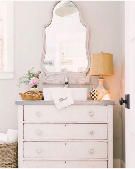Sharing lots of sources to create this farmhouse style bathroom.    http://liketk.it/36Mqb #StayHomeWithLTK #LTKhome #liketkit @liketoknow.it      You can instantly shop my looks by following me on the LIKEtoKNOW.it shopping app