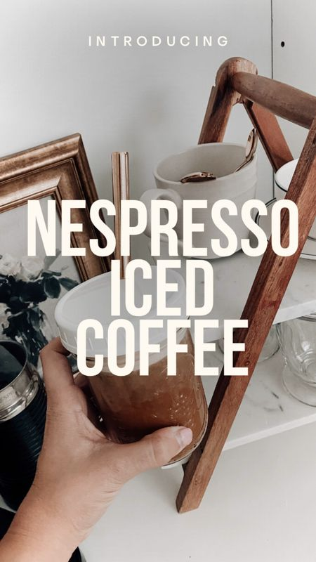 Nespresso, coffee corner, coffee decor, coffee machine   #LTKunder50 #LTKSeasonal #LTKhome