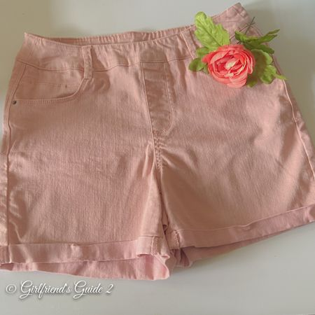 The best shorts I've ever bought from Walmart! These are super comfy pull-on shorts in dusty rose. I typically wear a size 10/12 but got these in M8/10 and they fit perfectly.  #LTKsalealert #LTKstyletip #LTKunder50