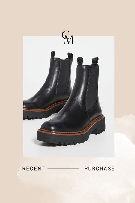 Sam Edelman lug boots on sale. Waterproof and great for petites! I have the 5.5   #LTKsalealert #LTKshoecrush