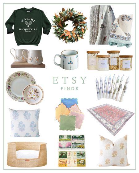 Etsy finds, home decor, stationery, sweatshirt   #LTKhome #LTKunder100