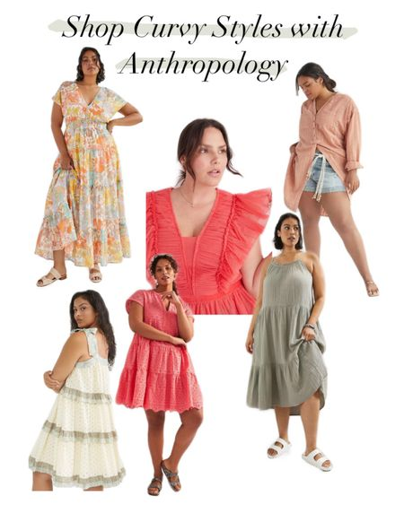 Another fantastic curvy girl selection! Anthropology provides stunning dresses and clothing for plus size women! #LTKcurves http://liketk.it/3e4pG #liketkit @liketoknow.it