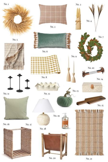 Pretty home decor finds to freshen up your home for fall! ✨ More on HAF today too!   #LTKSeasonal #LTKunder100 #LTKhome