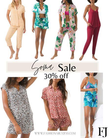 My all-time favorite pajamas on sale  Soma Cool nights Pajamas   #LTKstyletip #LTKunder100 #LTKsalealert