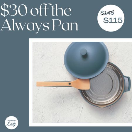 My favorite nontoxic nonstick pan is on sale - and it makes the perfect holiday gift for anyone who loves to cook! Pretty cookware Pretty pan Nontoxic pan Cooking Gift idea Gift guide Early holiday shopping  #LTKHoliday #LTKsalealert #LTKGiftGuide
