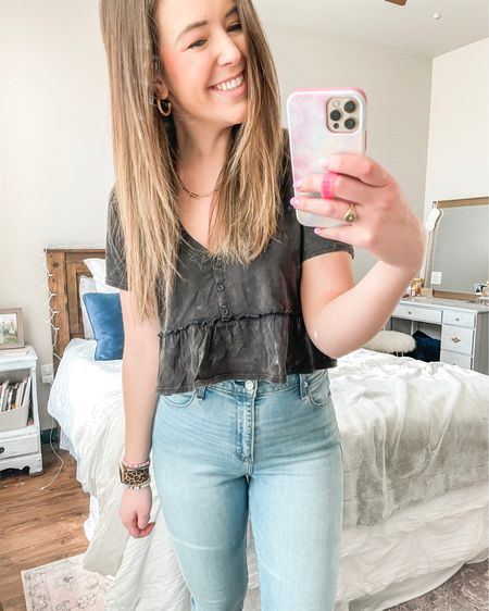 Love this Target top! It's super cropped - just FYI! http://liketk.it/39r6s #liketkit @liketoknow.it