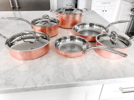 Sharing my favorite pots and pans... not only are they beautiful but they cook like a dream and can look brand new with a little polish. @liketoknow.it #liketkit http://liketk.it/3by9r