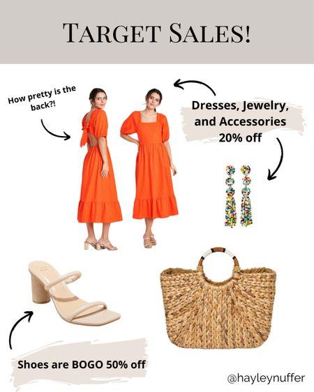 Target Shoes BOGO 50% off!  Dresses, accessories, jewelry all 20% off!!   Download the LIKEtoKNOW.it shopping app to shop this pic via screenshot    http://liketk.it/3bOcB     #liketkit @liketoknow.it #LTKSpringSale #LTKsalealert #LTKunder50
