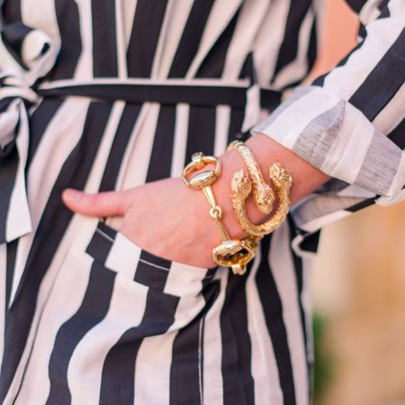 Is there anything better than a rockin' arm stack?! These Gucci pieces from @leemichaelsjewelry are everything! Head over to my story to see the full post with these beauties on my blog!     @liketoknow.it http://liketk.it/2xGvC #liketkit #gucci #armparty #bloggerstyle #tuesdaymood #jewelrylover #braceletstack #ontheblog #accessorize