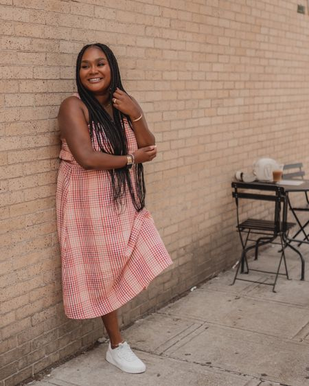 Loving this summer dress from madewell, pair it with sneakers or a cute wedge   #midsize #midsizestyle http://liketk.it/3jiOd #liketkit @liketoknow.it #LTKstyletip #LTKunder100 #LTKcurves