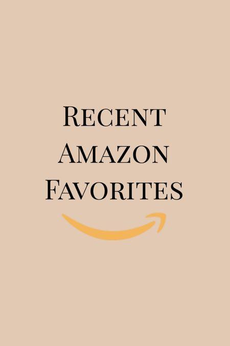 Recent Amazon faves!   #LTKhome #LTKbeauty #StayHomeWithLTK