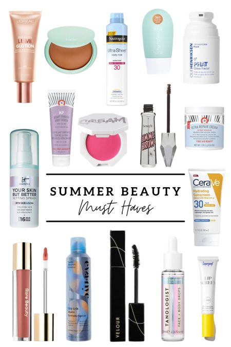 Summer beauty must haves! Rounded up all of my favorite skincare, makeup and spf for summer! And a few of these items are on sale today!! http://liketk.it/3hlfk #liketkit @liketoknow.it #LTKDay #LTKbeauty #LTKsalealert
