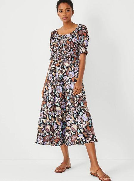 Ann Taylor Labor Day sale! Linked my favs. This dress is giving major  Ulla Johnson vibes.   #LTKfit #LTKunder100 #LTKsalealert