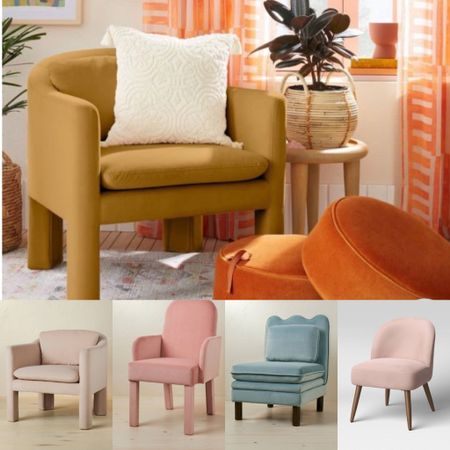 Check out these accent chairs that will gang new life to your home for fall.   #LTKSeasonal #LTKhome