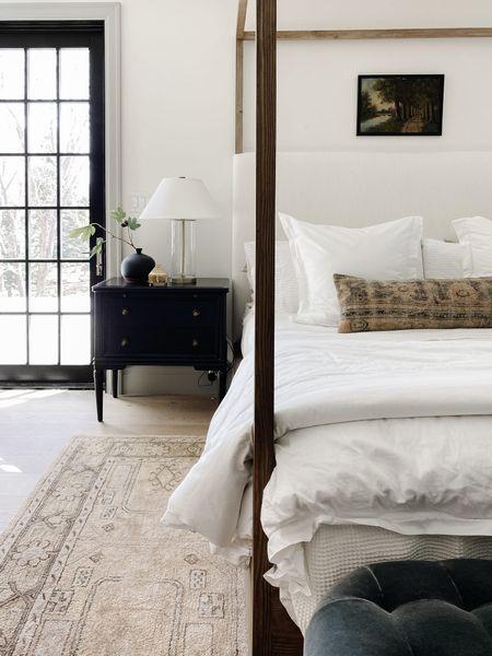Bedroom Furniture, Home Decor, Canopy Bed, Rug http://liketk.it/3iQw0 #liketkit @liketoknow.it
