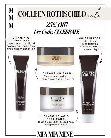 Colleen Rothschild sale  Take 25% off with code CELEBRATE    #LTKunder50 #LTKbeauty #LTKsalealert