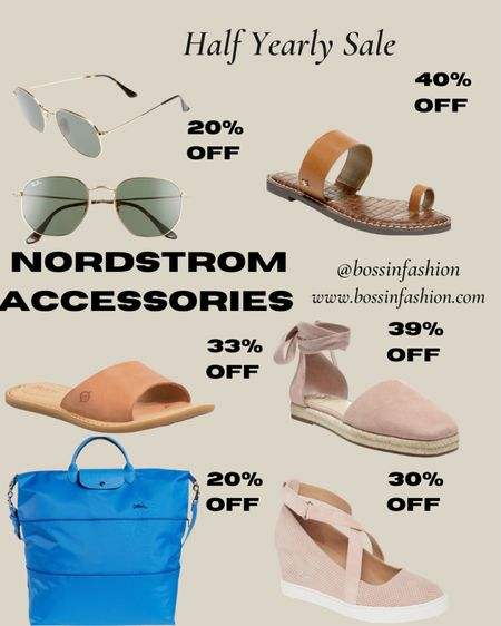 Nordstrom half yearly sale still going!!! I love anything accessories from shoes to glasses to handbags at Nordstrom! Shop my favorites. Sandals are in for summer in all shapes. See my picks! Hurry! #LTKsalealert #LTKshoecrush #LTKstyletip You can instantly shop all of my looks by following me on the LIKEtoKNOW.it shopping app http://liketk.it/3gCFM #liketkit @liketoknow.it